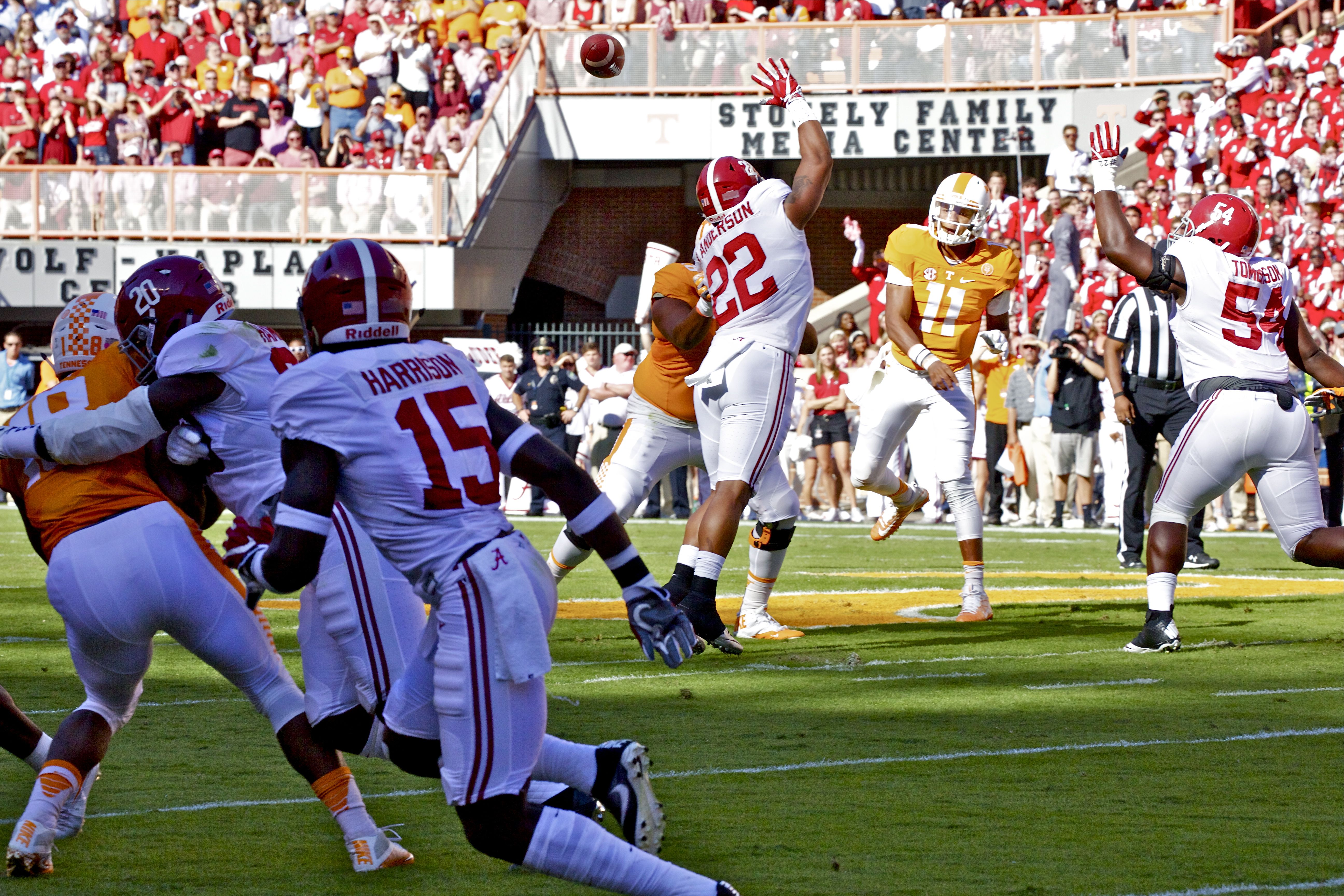 Photo Gallery: UT vs. Alabama Game Action