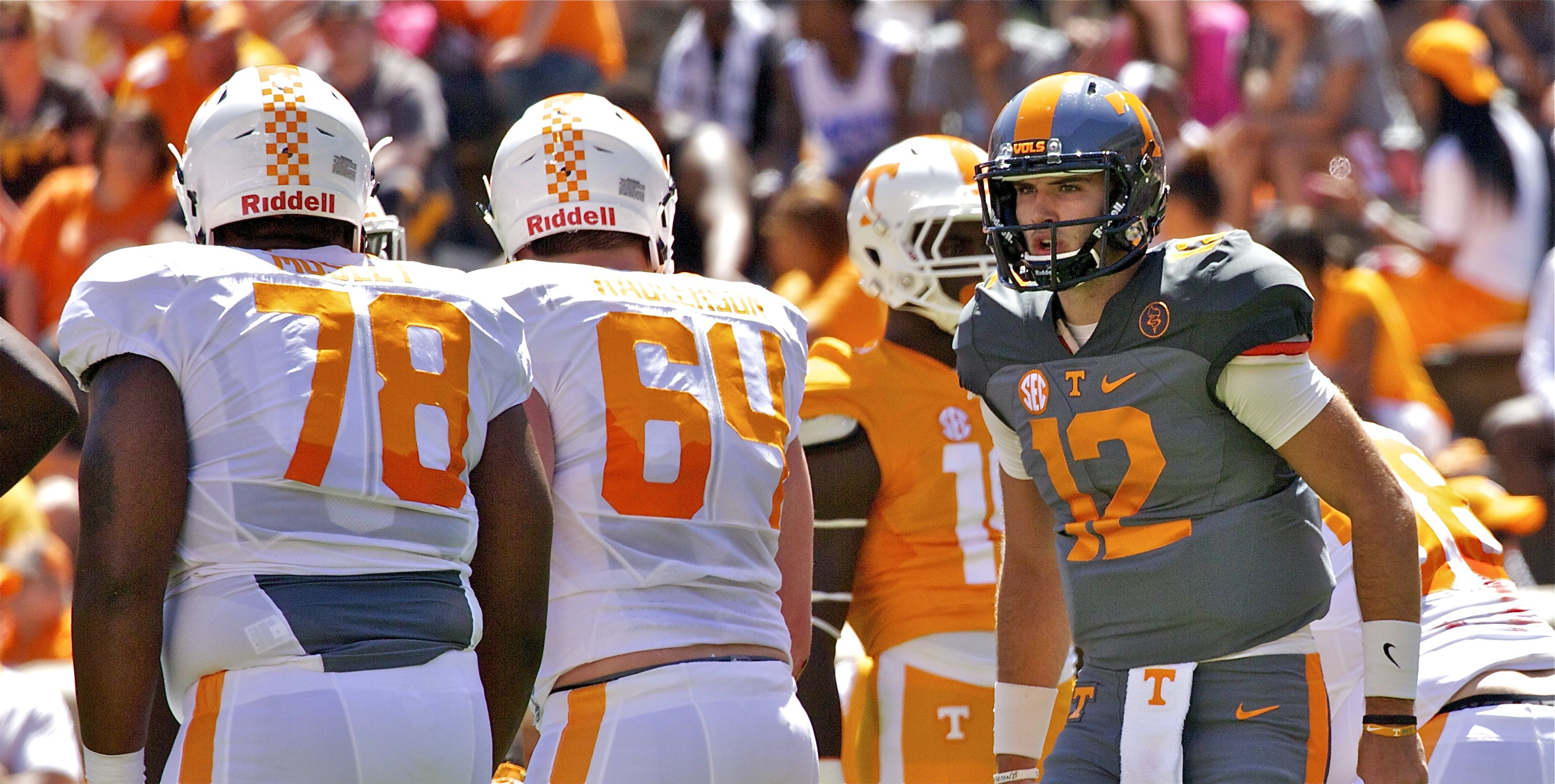 Tennessee football position-by-position analysis and 2017 projected starters
