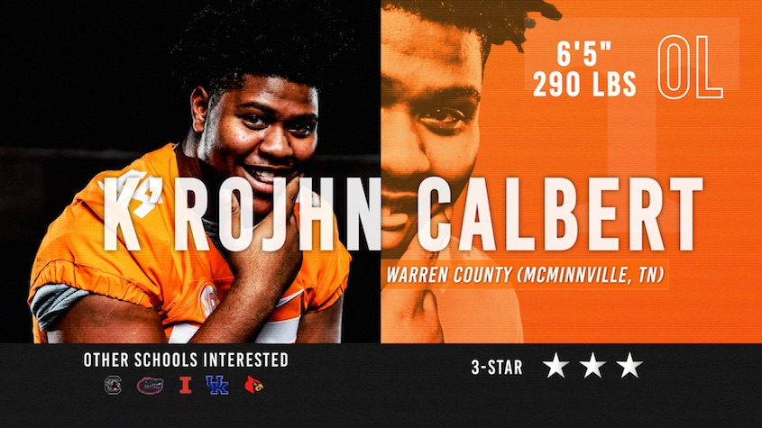 Vols signee K'Rojhn Calbert 1-on-1 with Jimmy Hyams