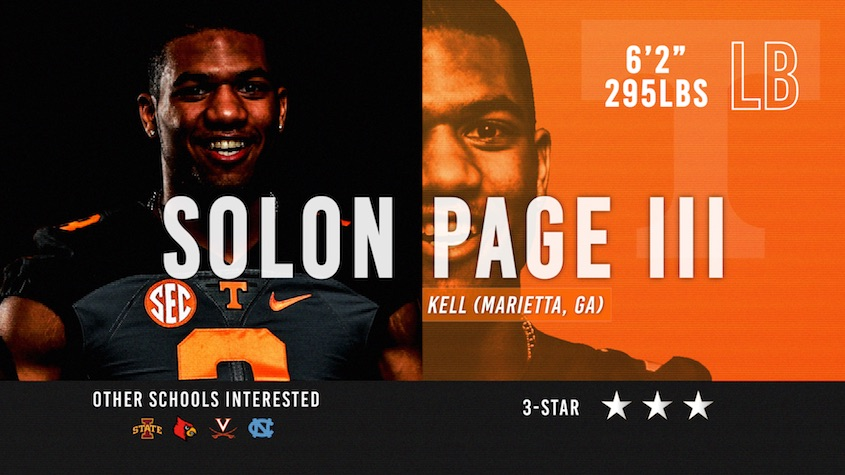Vols signee Solon Page III 1-on-1 with Jimmy Hyams