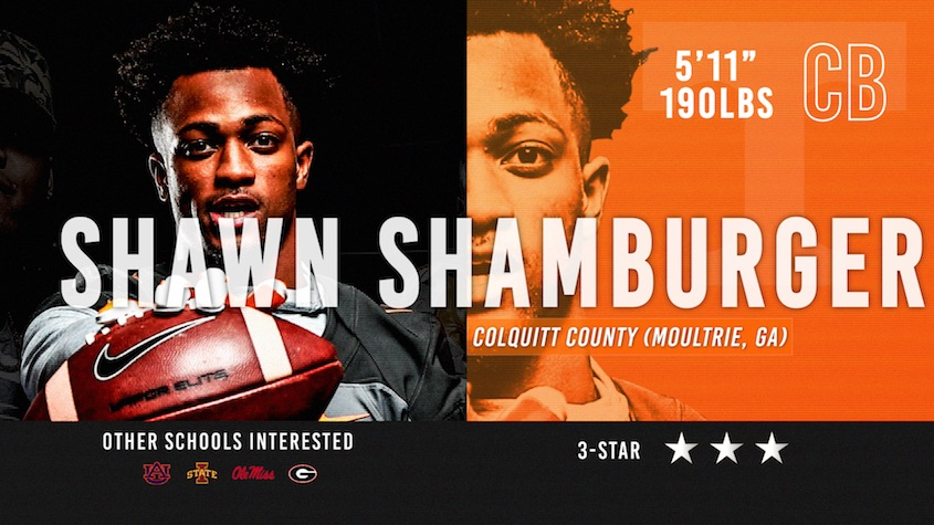 Vols signee Shawn Shamburger 1-on-1 with Josh Ward