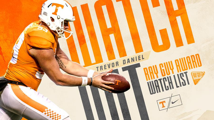 Daniel Named To Ray Guy Award Watch List