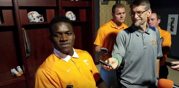 """Video – Jonathan Kongbo reflects on """"probably one of the top moments of my life"""""""