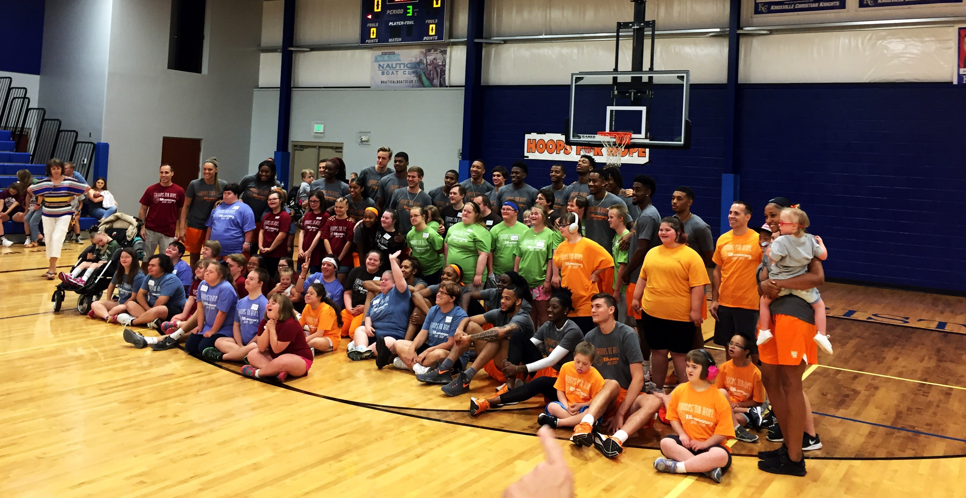 Everybody Wins at Hoops for Hope