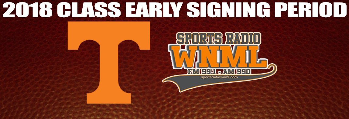Tennessee Early Signing Period Coverage