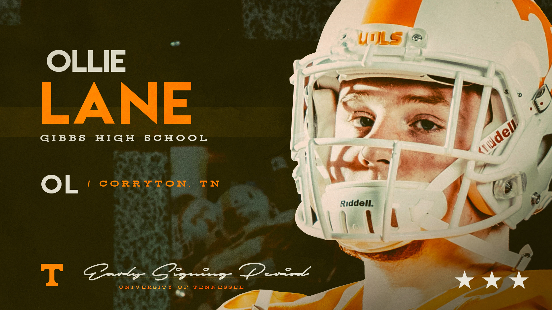 Gibbs star OL Ollie Lane is officially a Vol in ESP