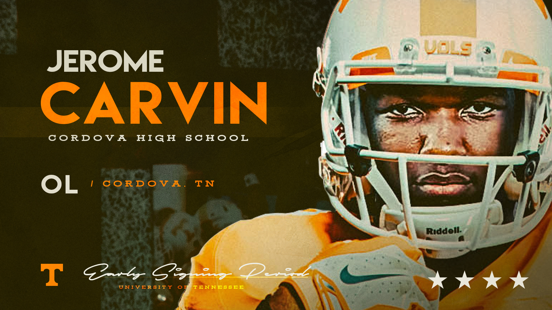 OL Jerome Carvin joins teammate Banks as a UT signee, the 7th