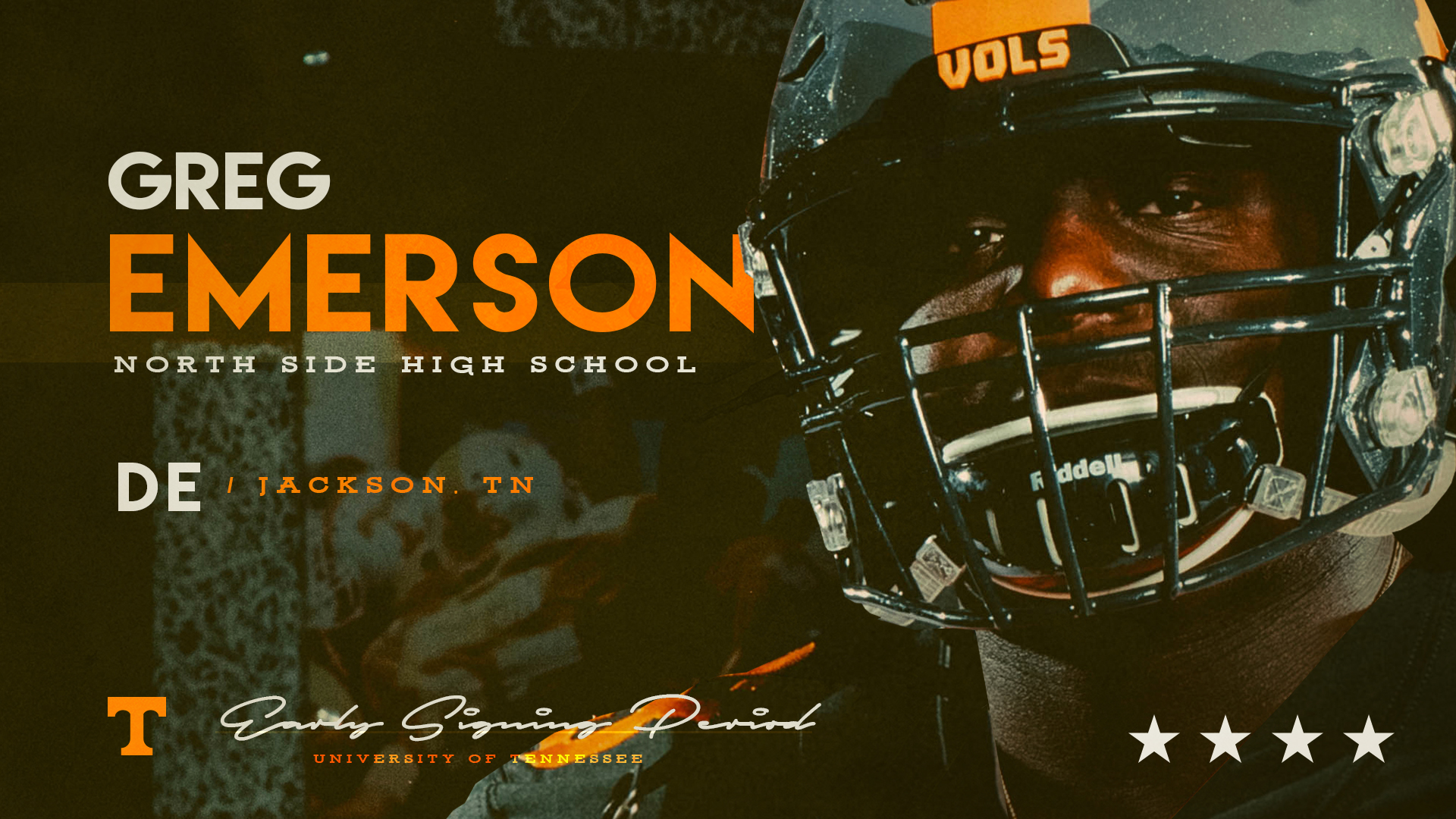 4-star DE Greg Emerson makes it 10 signees for the Vols