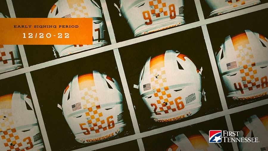 Vols Welcome 11 Newcomers on Day 1 of Early Signing Period (w/ Coach Pruitt quote)