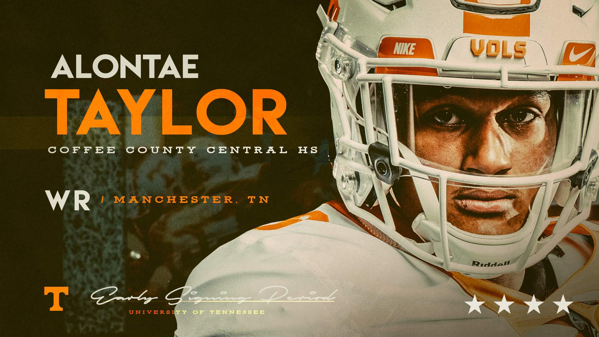 4-star in-state WR Alontae Taylor signs with UT on Friday