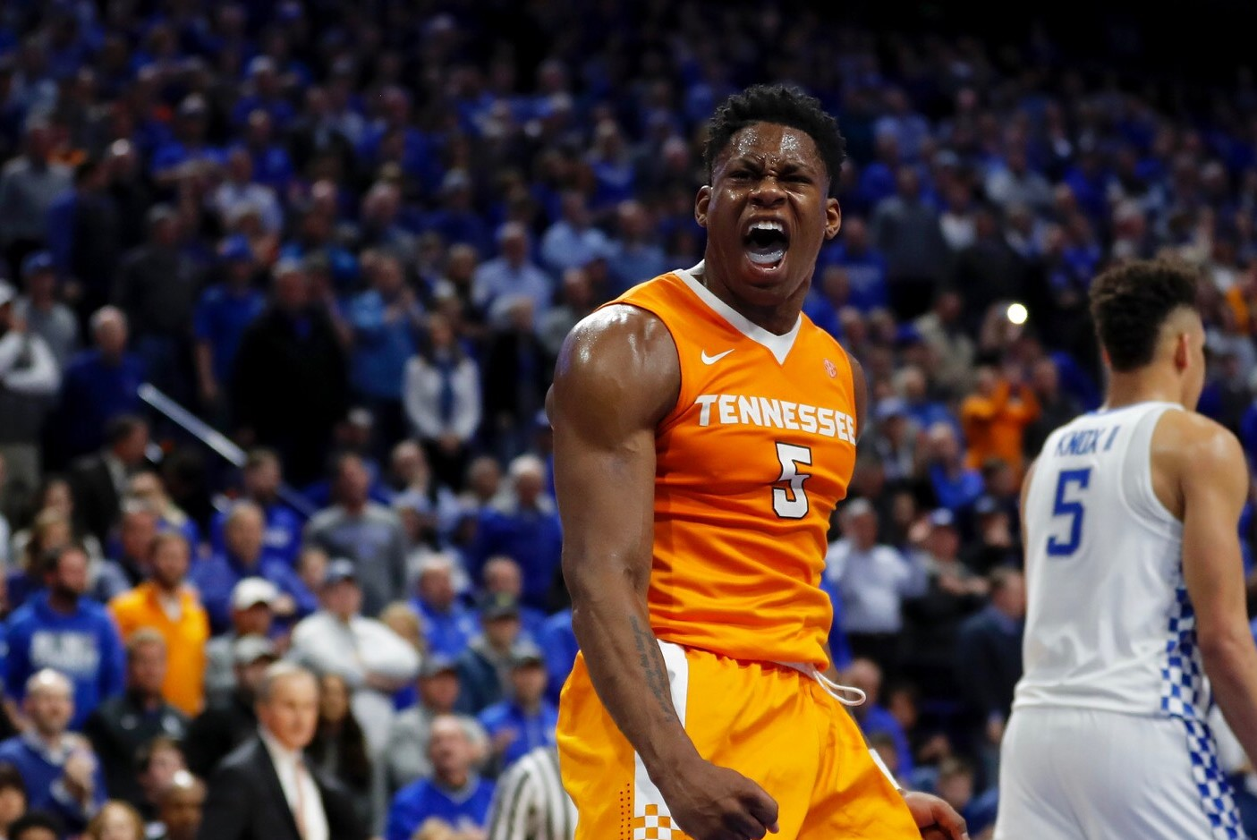 Watch: Tennessee Basketball is Making History