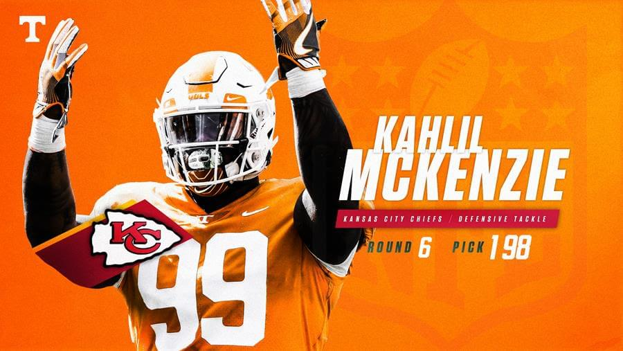 880c0293c99 McKenzie Selected by the Chiefs in the Sixth Round