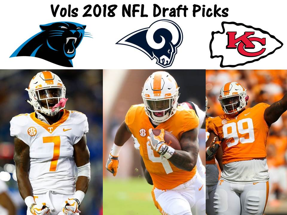 How do 3 Vols drafted and 11 free agents fit on their NFL teams?