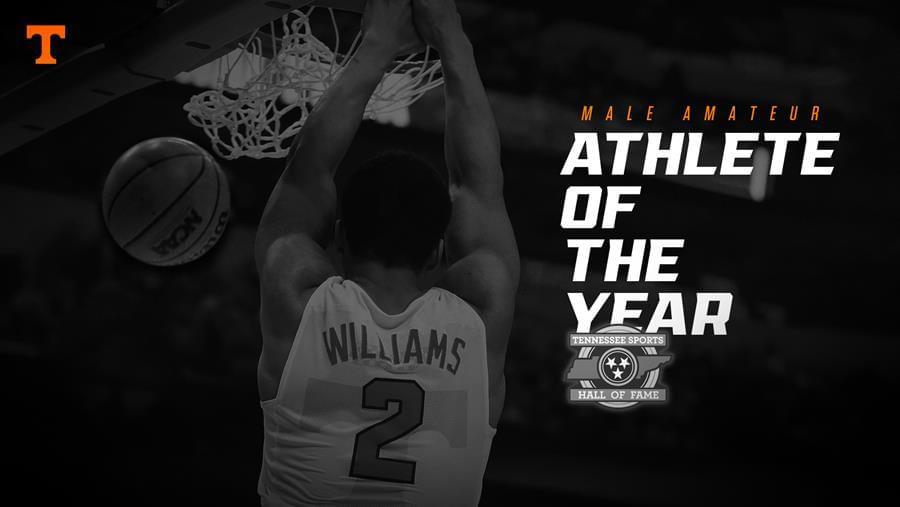 Williams Named Male Amateur Athlete of the Year by TSHOF