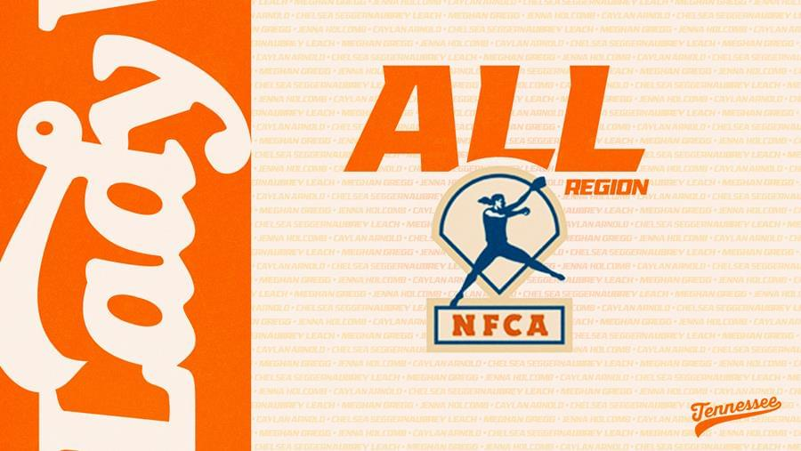 Five Lady Vols Named to NFCA All-Region Team