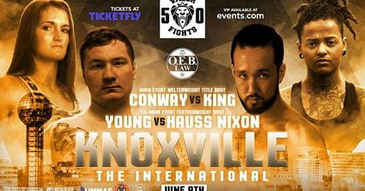 Vince's View: MMA fighters King and Young preview Valor