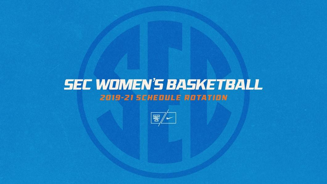 SEC Releases 2019-21 Women's Hoops Schedule Rotation