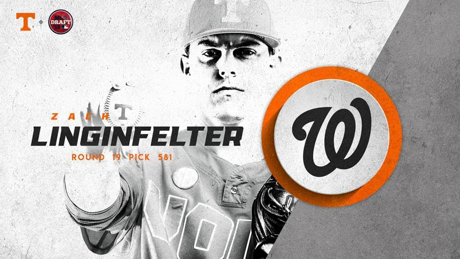 Linginfelter Selected in 19th Round of 2018 MLB Draft by Washington Nationals