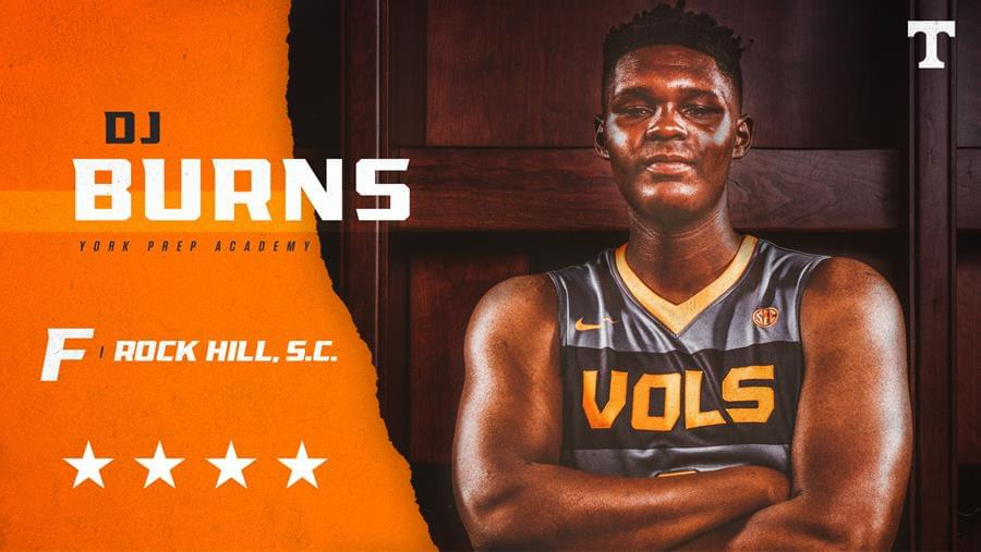 Forward D.J. Burns Signs with Tennessee