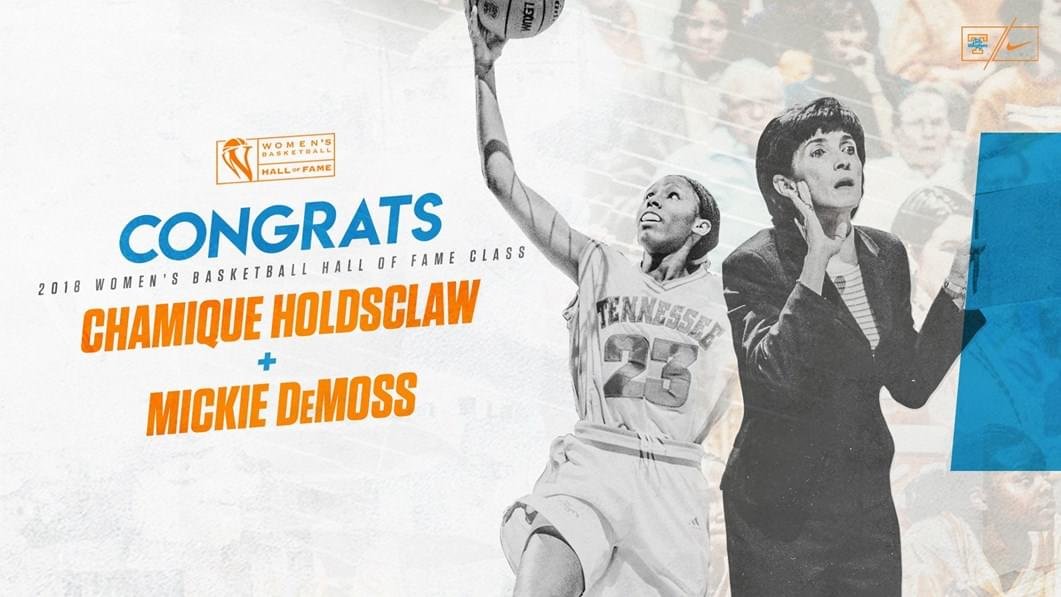 Holdsclaw, DeMoss Entering WBHOF