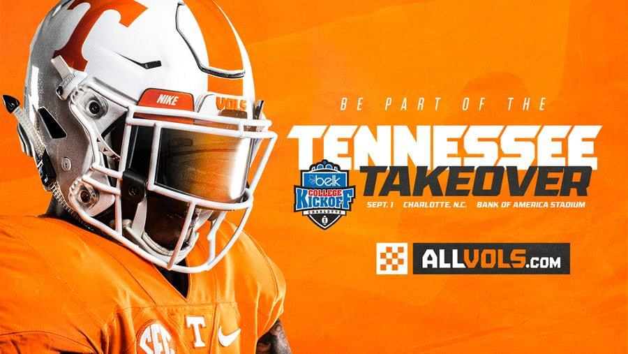 Be Part of the Tennessee Takeover in Charlotte Sept. 1