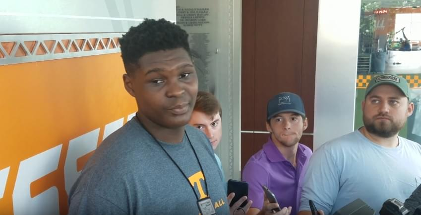 "DJ Burns on UT ""It's a great place where I can potentially get to the next level"""