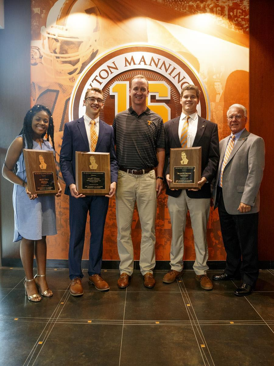 Video: 2018 Peyton Manning Scholars Recognized