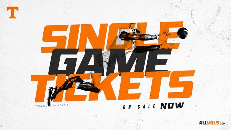 Vol Football Single Game & Mini-Plan Tickets are on Sale Now