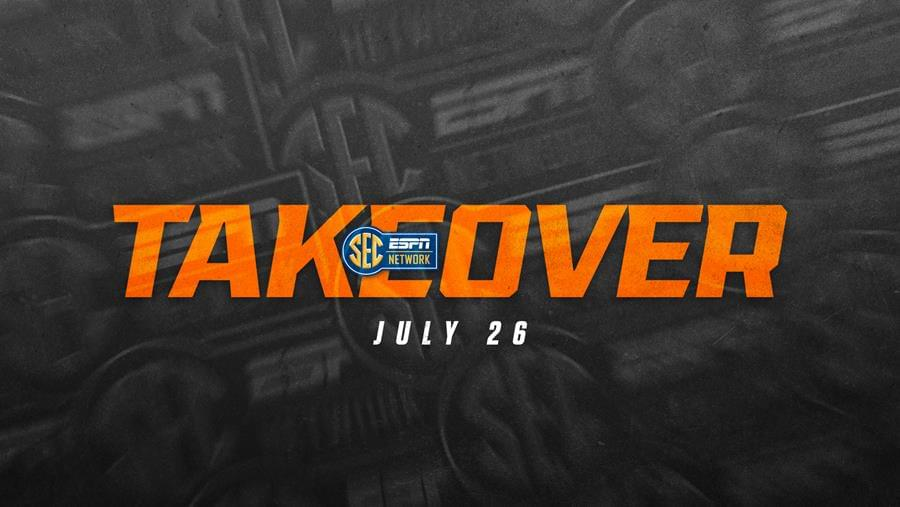 Tennessee Takes Center State for SEC Network Takeover July 26
