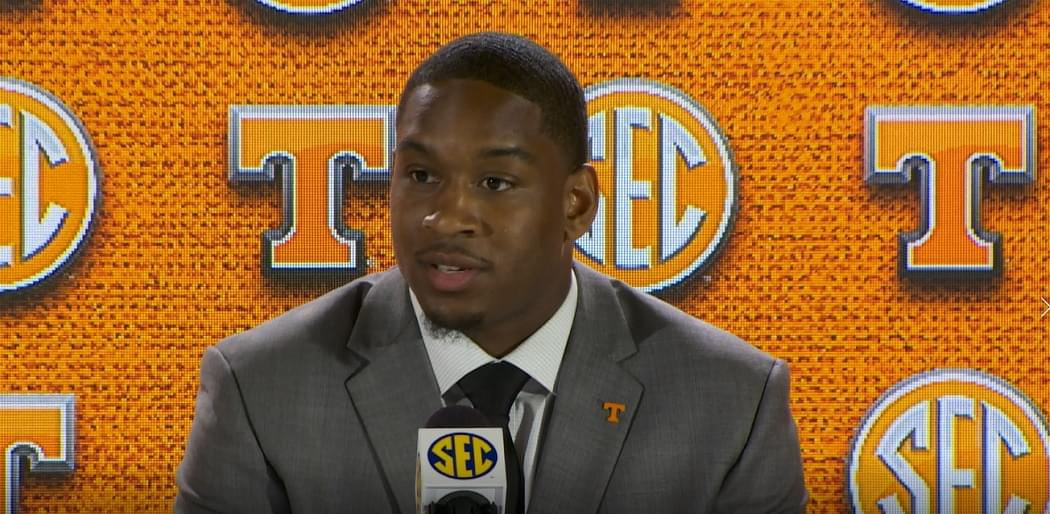 Video: Vols DE Kyle Phillips at #SECMD18