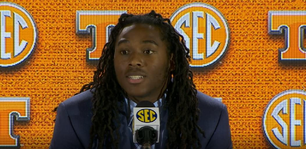 Video: Vols WR Marquez Callaway at #SECMD18