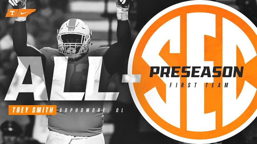 Trey Smith Captures Preseason All-SEC First Team Honors
