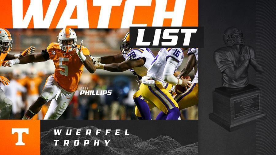 Phillips Named to Wuerffel Trophy Watch List