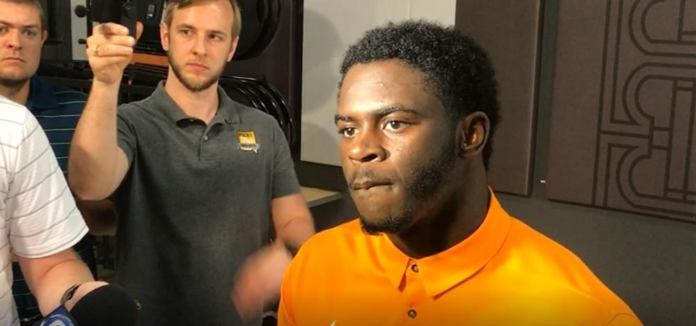 Vols OLB Darrell Taylor excited about new position and this year's defense