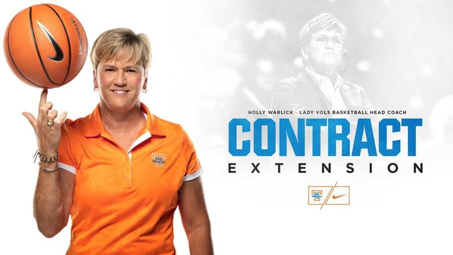 Lady Vols head coach Holly Warlick awarded contract extension