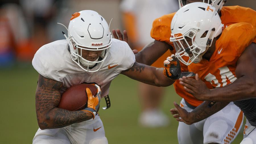 Vols camp report: First scrimmage in the books