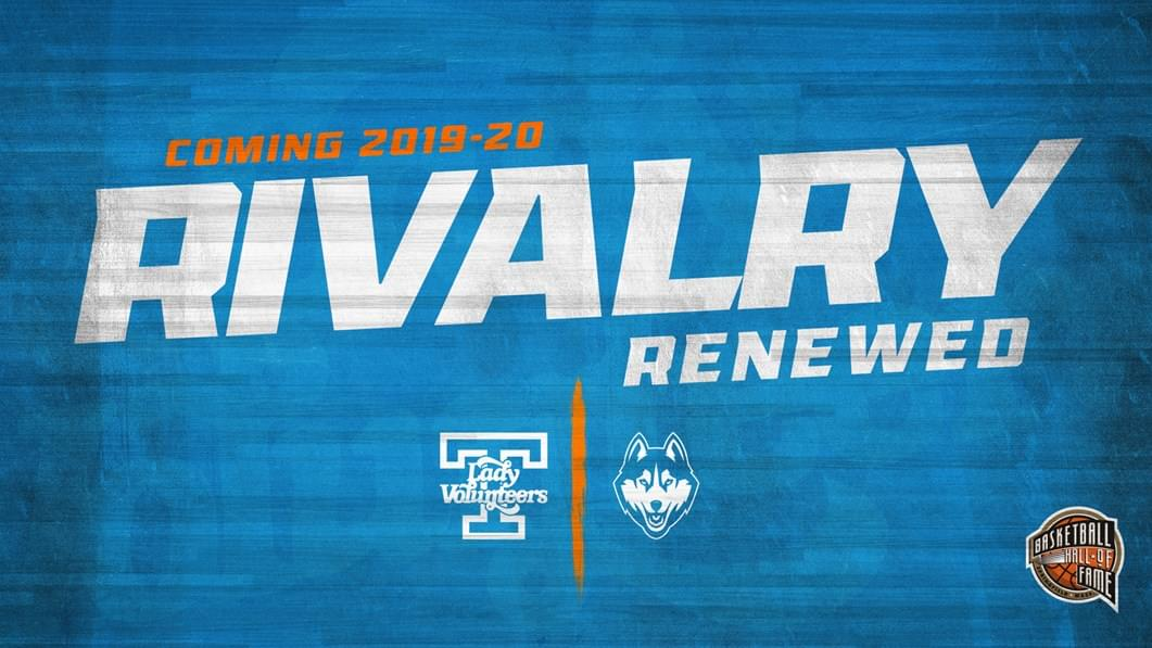 Lady Vols, UCONN to Renew Rivalry in Benefit Games