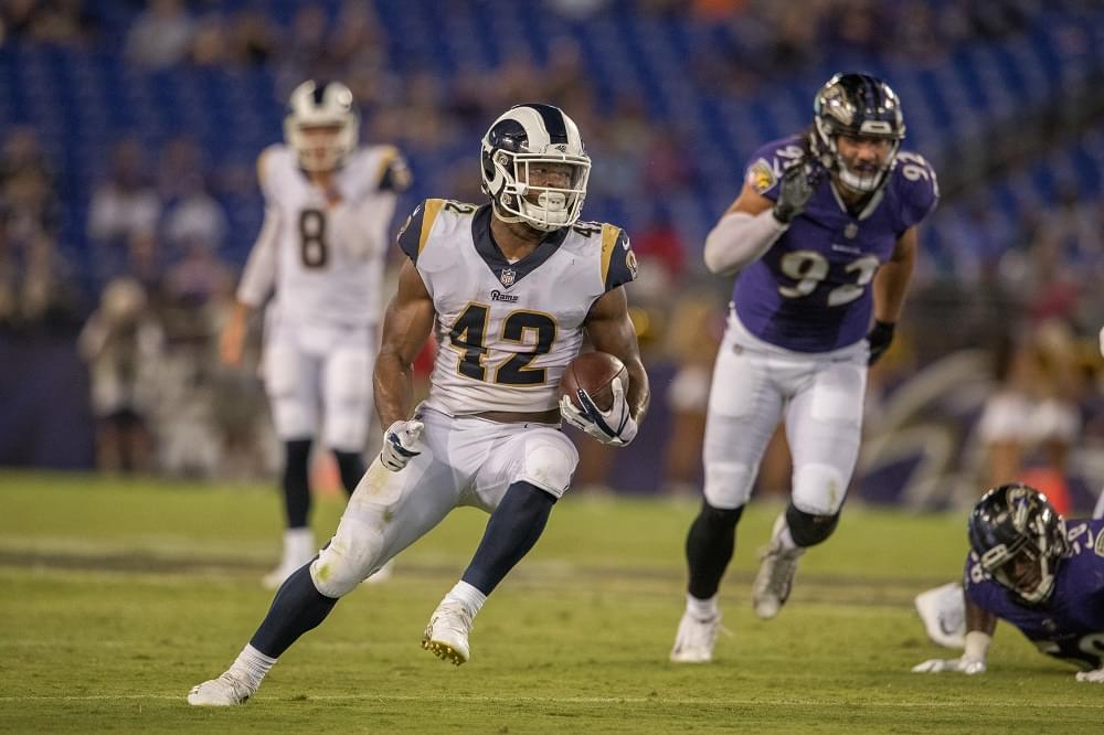 Vince's View: A 1-on-1 with Rams rookie RB John Kelly (audio)