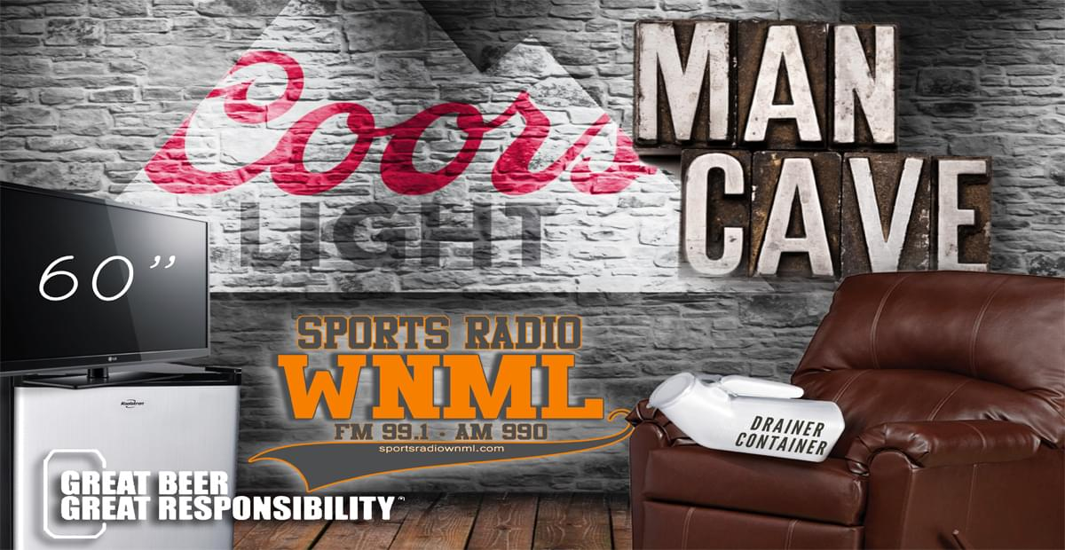 WNML's Coors Light Man Cave Makeover