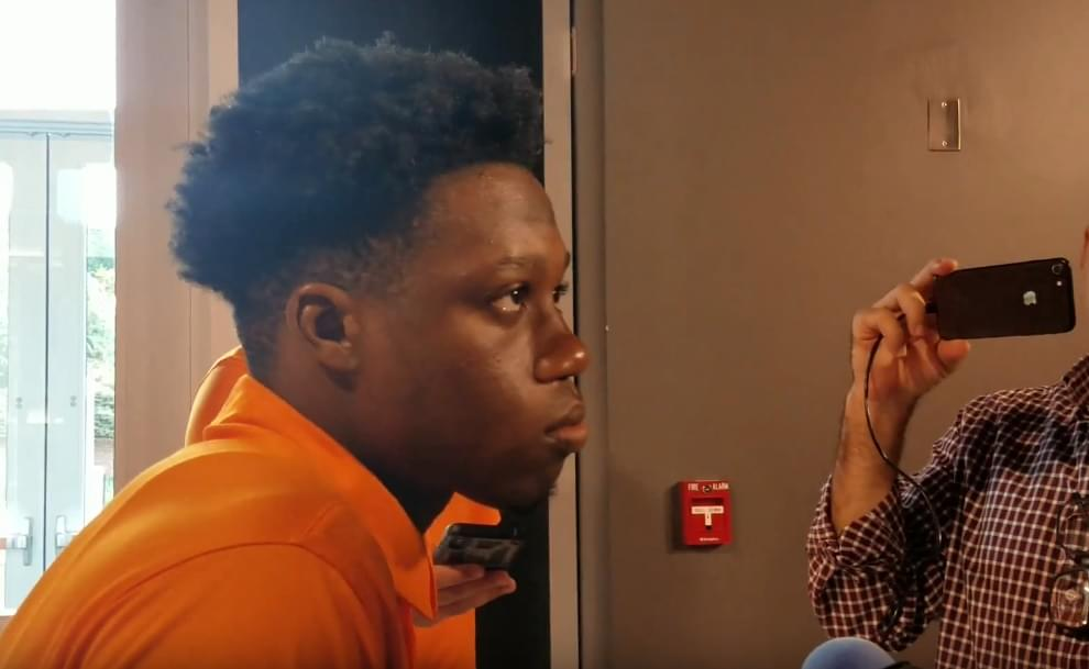 Video: Josh Palmer talks journey from Canada to S. FL to Knoxville