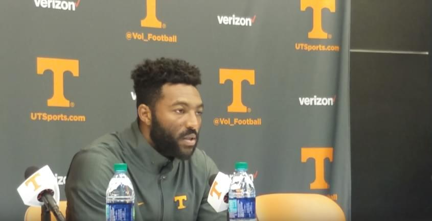 Video: Micah Abernathy fields questions after blowout loss to UF
