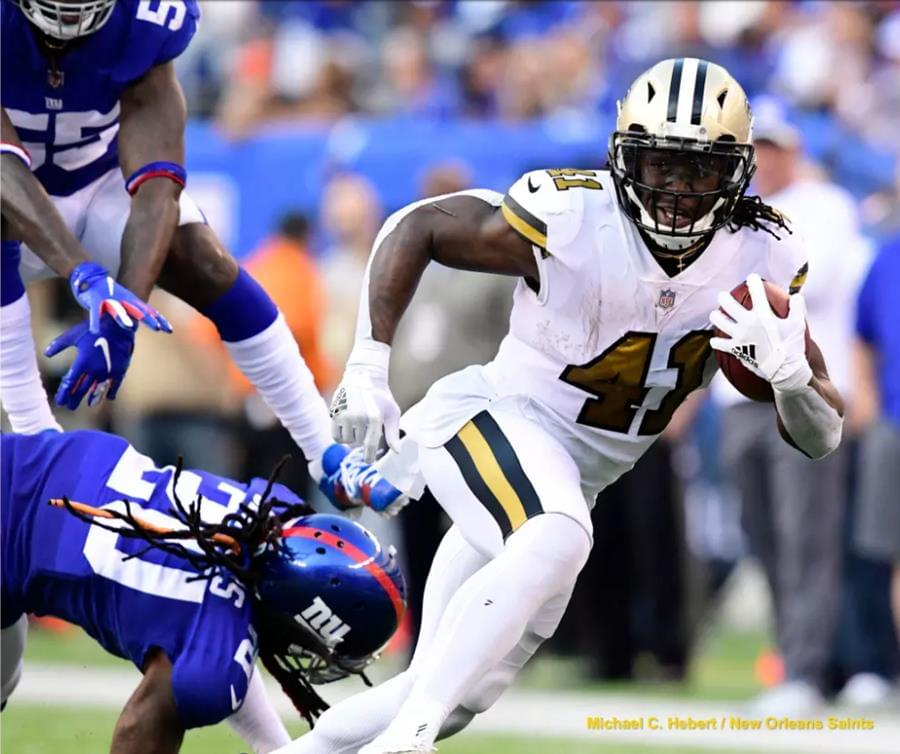 Kamara Continues to Shine for the Saints in Week 4