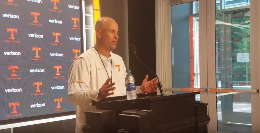 Video: Pruitt on player improvement, relationship with coaches and Auburn prep