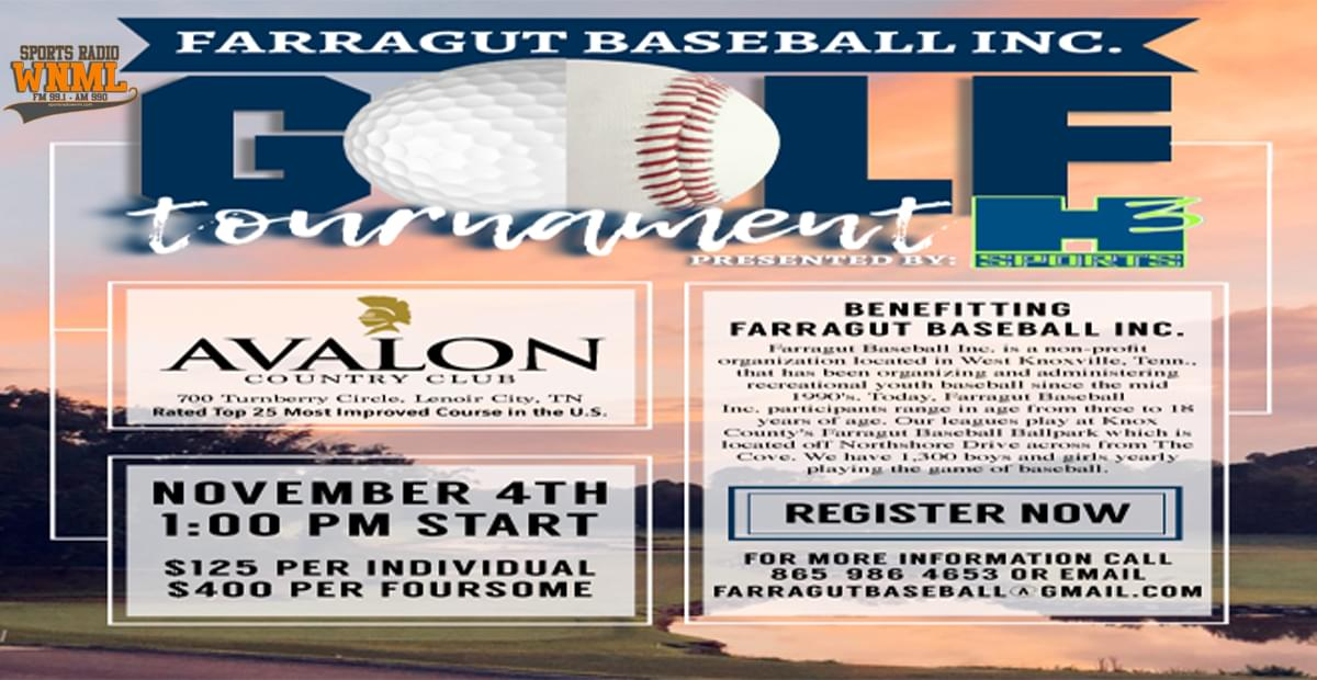 Farragut Baseball Golf Tournament