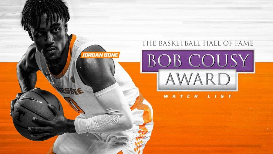 Bone Named to Bob Cousy Award Watch List