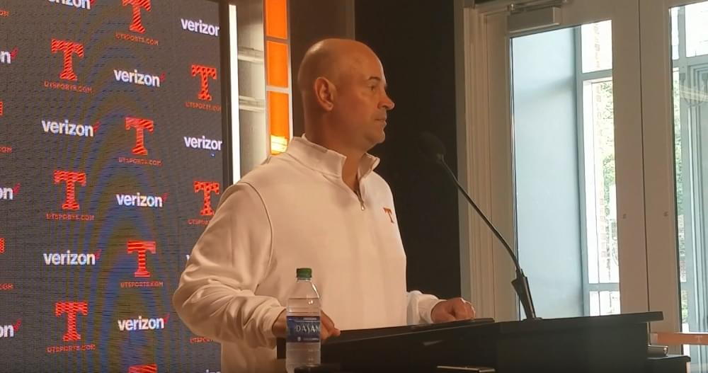 "Video: Pruitt on Bama ""They've really had to try hard not to score 100 points a couple of games"""