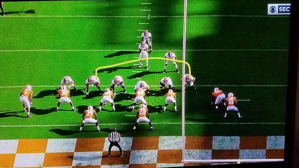 UT/Bama observations, opinions, Butch reaction and a season study of 1st down play-calling
