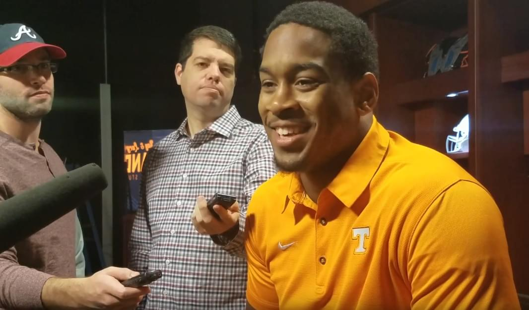Video: Kyle Phillips raves about Darrell Taylor getting after the QB