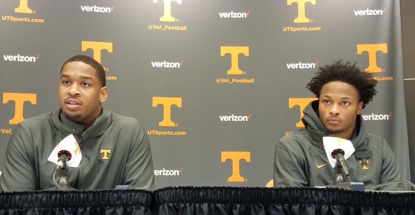 Video: Kyle Phillips, Ty Chandler and Micah Abernathy in postgame after loss to Tigers