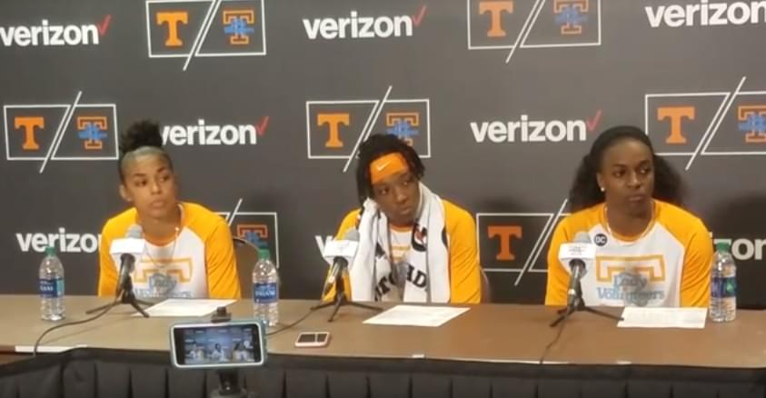 Video: Players and Warlick after Lady Vols' 65-pt win